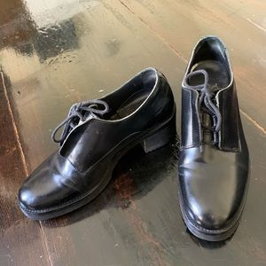 COS Women's Leather Oxford Shoe Size 37